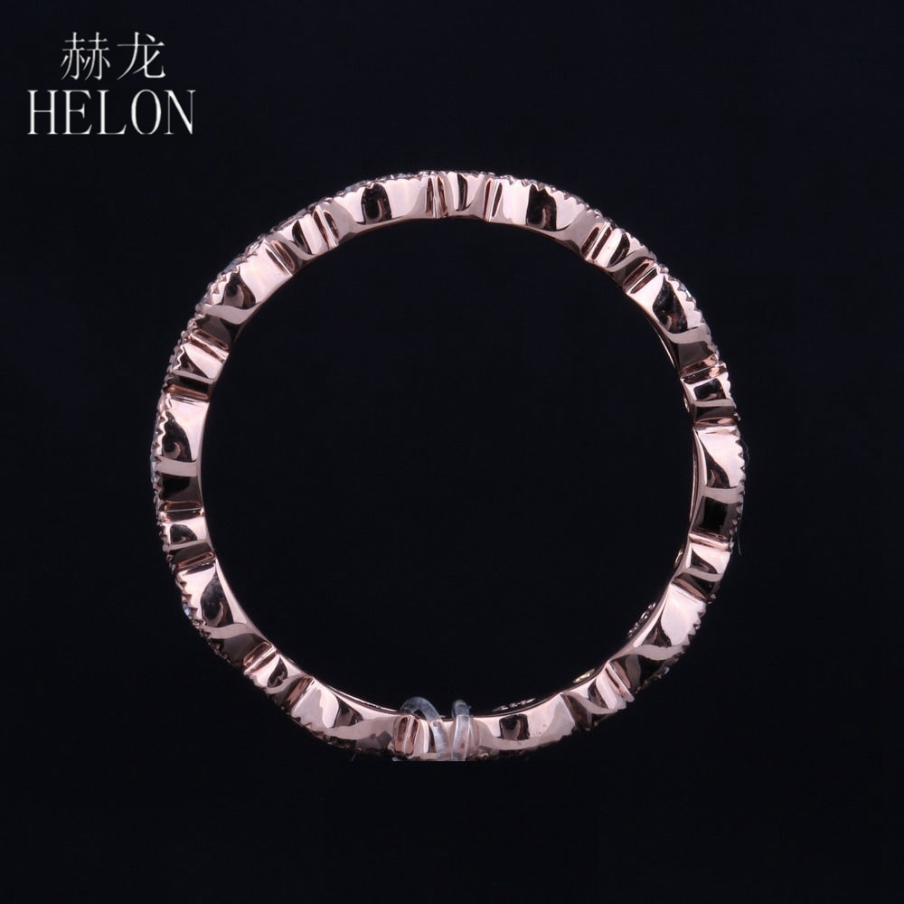 HELON Fine Diamonds Band Solid 14K Rose Gold