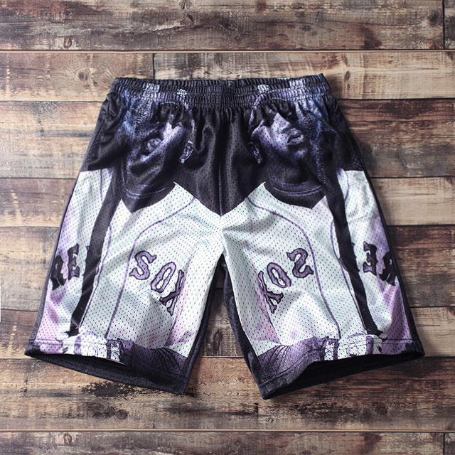 men new arrival shorts beach fashion hiphop fashion awesome plus size mesh 5XL cool awesome 4XL housewear holiday gift sand cool