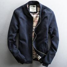 NEW 2016 Spring plus size S-4XL denim jacket men cotton washed denim jean jacket man british stylish navy blue denim coat male
