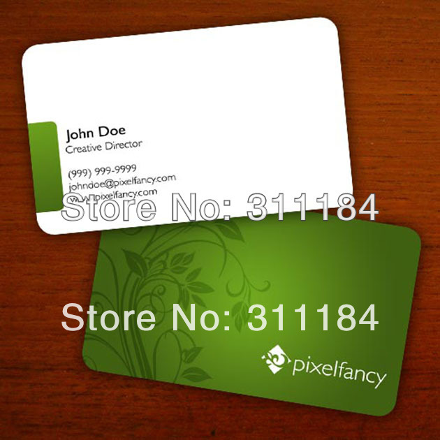 Online buy wholesale standard business card size from china standard size cr80 pvc business cardchina reheart Images