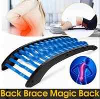 Camilla mágica Fitness soporte Lumbar equipo de estiramiento masajeador de espalda relajación Mate dolor raquídeo aliviar la tensión muscular Lumbar