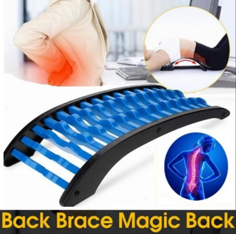 Magic Stretcher Fitness Lumbar Support Stretch Equipment Back Massager Relaxation Mate Spinal Pain Relieve Lumbar Muscle Strain