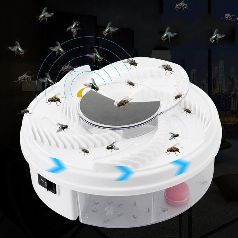 Electric Effective Fly Trap Killer USB Pest Device Insect Catcher Automatic Flycatcher Fly Trap Catching Artifacts Insect Trap