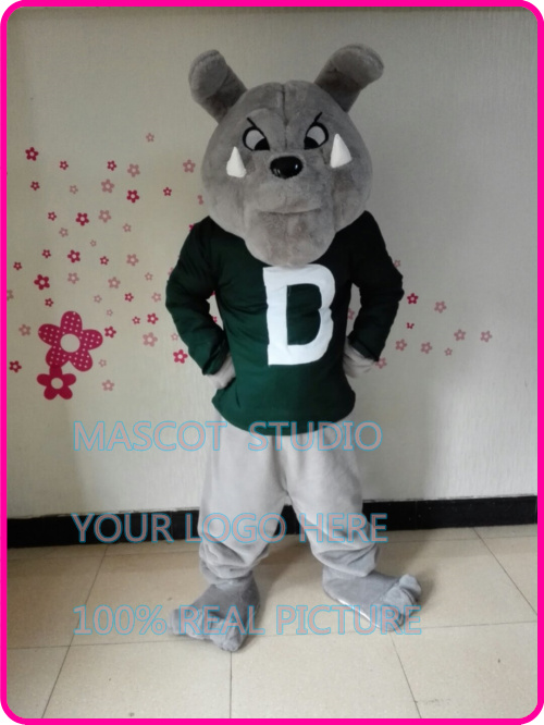 grey bulldog mascot costume bull dog custom cartoon character cosplay fancy dress mascotte theme carnival costume anime 41294-in Mascot from Novelty ... & grey bulldog mascot costume bull dog custom cartoon character ...