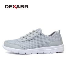 DEKABR 2017 New Brand Running Shoes Comfortable Breathable Outdoor Sports Light Shoes Men Women Athletic Training Run Sneakers