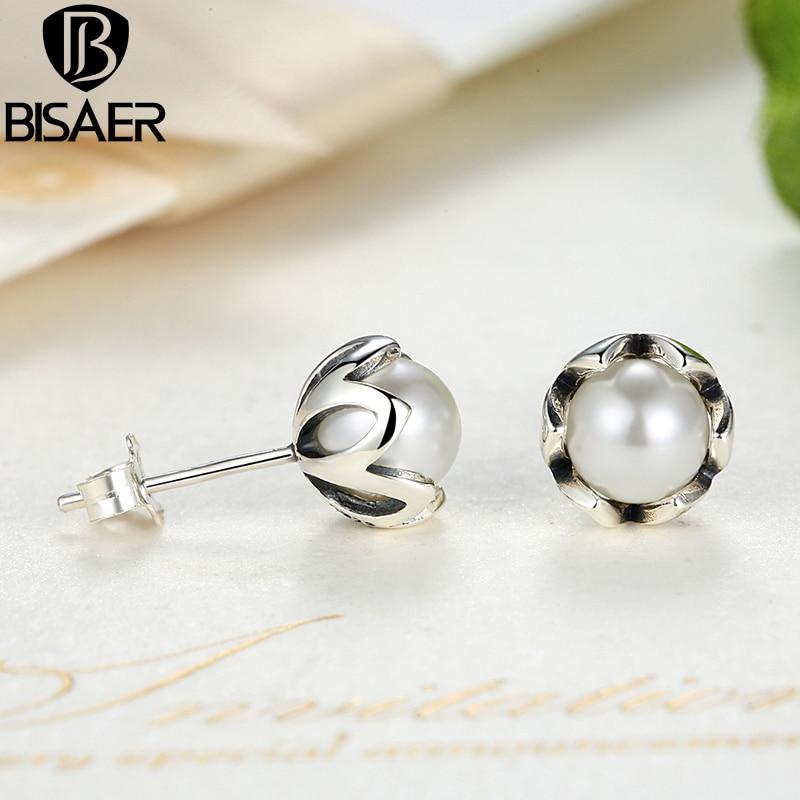 BISAER 925 стерлингови сребърни - Модни бижута - Снимка 1