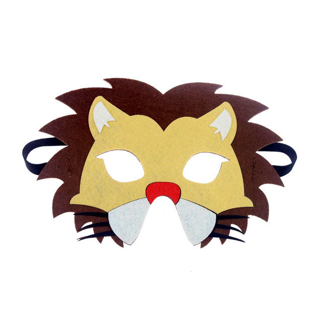 Mask Super Hero Wolf Rabbit Animals Face Giraffe Tiger Mask Kids Children Birthday Costume DIY Masquerade Eye Mask Cosplay Xmas 2