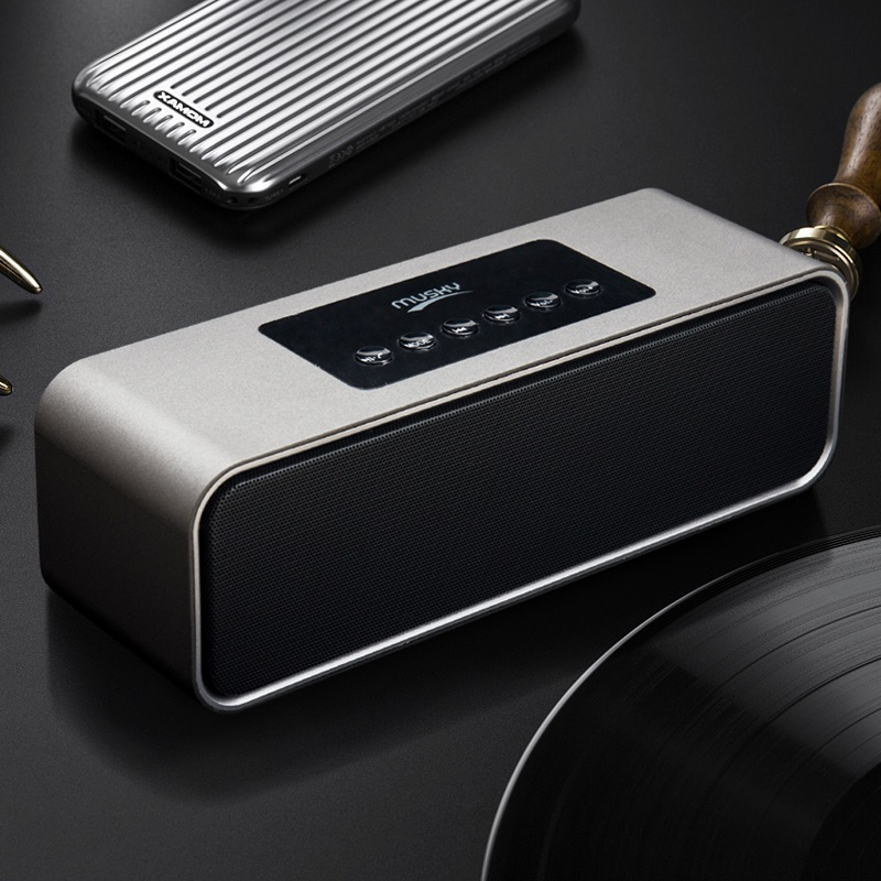 2019 Latest High end Bluetooth Speaker HIFI Wireless Bluetooth Speaker Sound System 3D Stereo Music Surround Portable Speaker in Subwoofer from Consumer Electronics