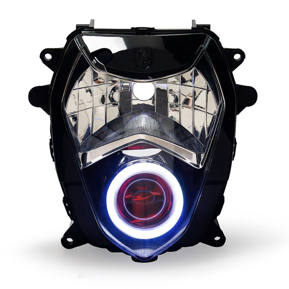Honda Big Red Wiring Diagram Kt Headlight For Suzuki Gsxr1000 Gsx R1000 2003 2004 Led