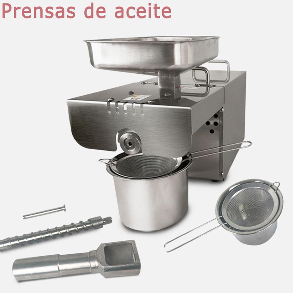 macchina della pressa di olio da cucina in acciaio inox di arachidiolio di sesamo caff uso domestico 220 v110 v adatto per ma
