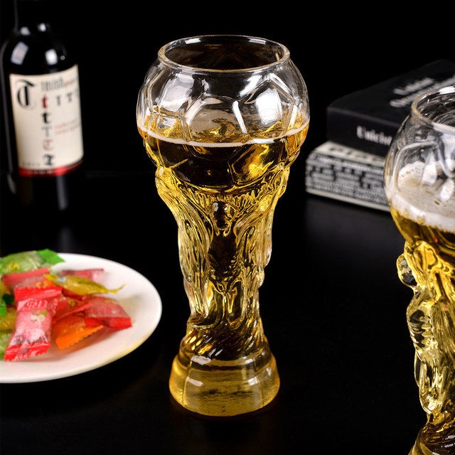 Football Goblet Shaped Beer Cup