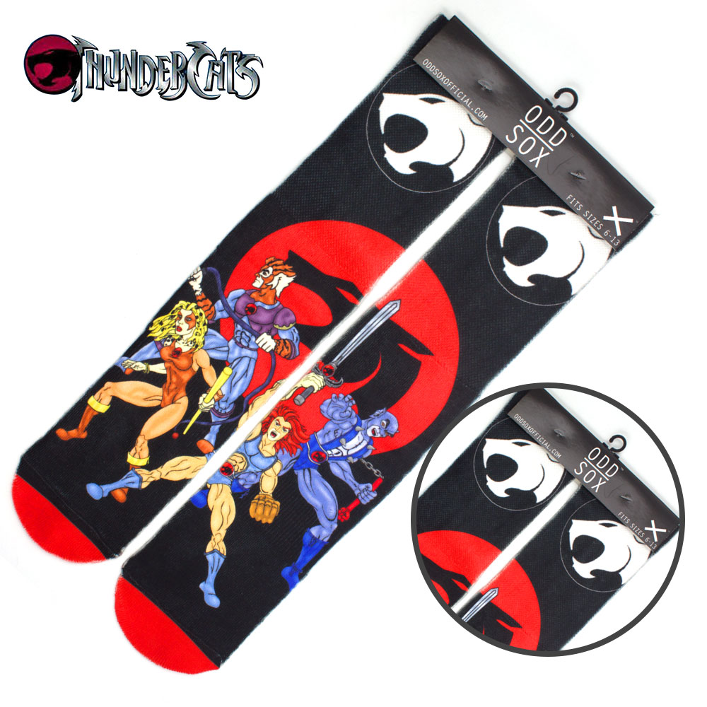 "4x16"" Anime Thundercats Lion-O Tygra Cotton Socks Colorful Stockings Warm Tights Cosplay Costume Unisex Cartoon Fashion Gifts"