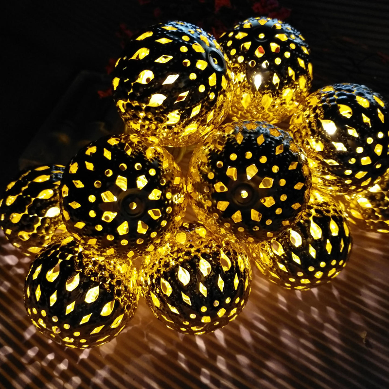3M led string lights with 20led ball decoration lamp Festival outdoor