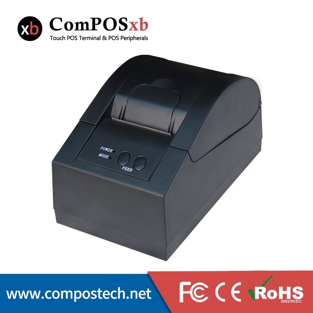 Black pos printer USB thermal printer 58mm thermal printer 80mm thermal printer new upgrade quality hprt lpq80 printers pos printer barcode printer