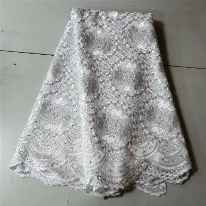 alta qualidade tecidos algodão tecido renda swiss