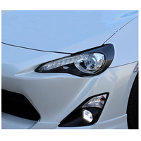 gt 86 carbon fiber eyebrow headlight lips brows Fit For Toyota gt86 2012 2016