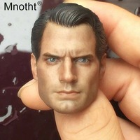 Mnotht Male Soldier Head Sculpt Model 1:6 Scale Superman 2.0 Head Carving Toys For 12in Action Figures Accessories m3