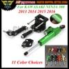 1 Set Motorcycle CNC Adjustable Linear Reversed Steering Damper With Bracket Support For KAWASAKI NINJA 300