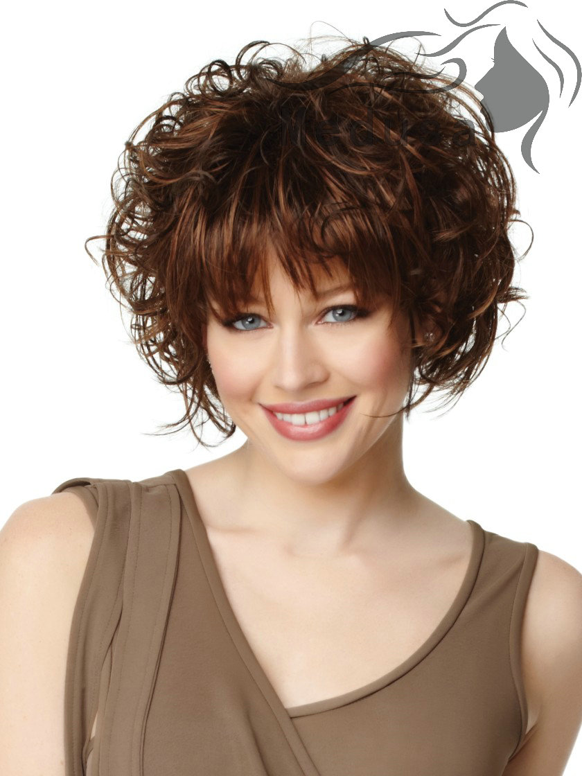 short hairstyles wavy puffy