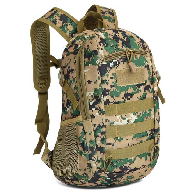 12L Tactical MOLLE Army Outdoor Sports Pack Waterproof Backpack School Bags Kids Mini Military Rucksack Children Travel bag