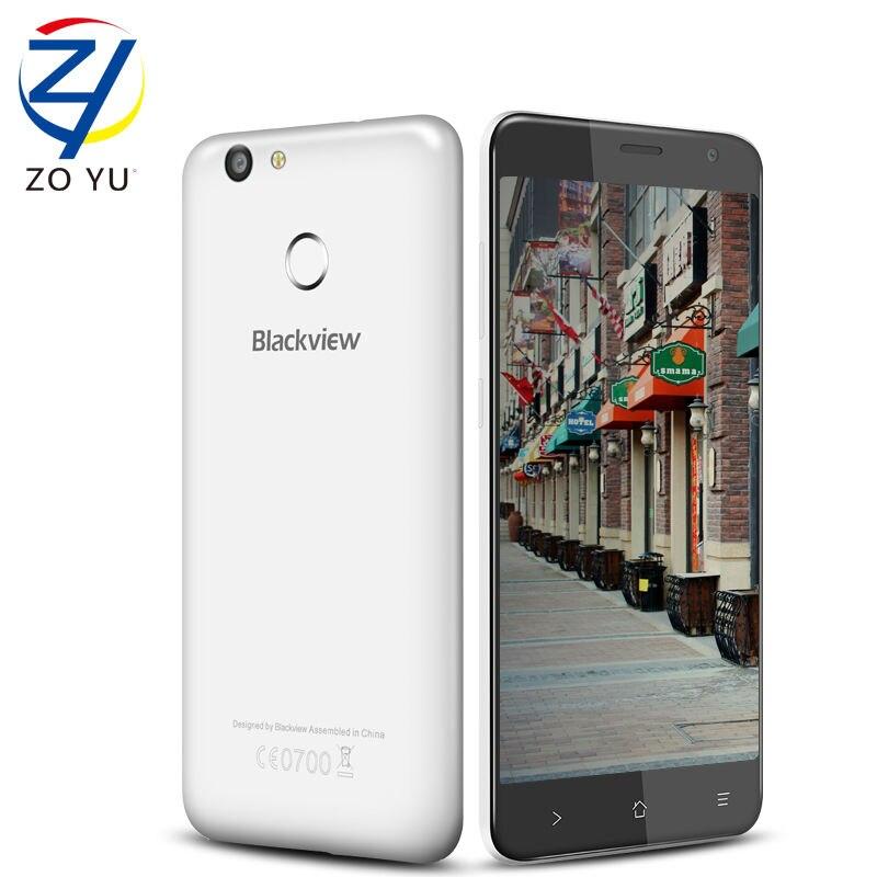 bilder für Blackview E7S Handy Android 6.0 5,5 Zoll IPS HD MTK6580A Quad Core 2 GB RAM 16 GB ROM 8MP CAM 3G Fingerprint ID Smartphone