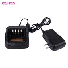 YIDATON 1 PC Preto Handheld Carregador de Bateria para Rádio Walkie Talkie Hytera PD700 PD780 Carregador de Rádio Em Dois Sentidos Acessórios