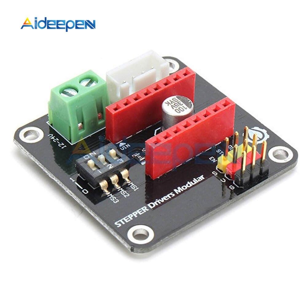 3D Printer 42 Stepper Motor Driver Control Expansion Board Shield Module For Arduino UNO R3 Ramps1.4 DIY Kit DRV8825 A4988