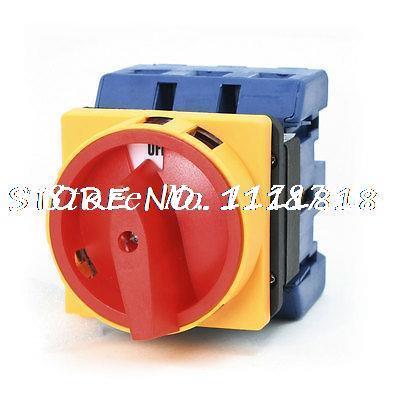 Ui 660 V avec interrupteur de changement de came rotatif universel à 2 positions ON/OFF 100A