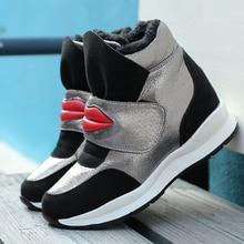 Hot Sales High Heels Casual Shoes Tenis Feminino Platform Basket Femme 2016 New Krasovki Slipony font