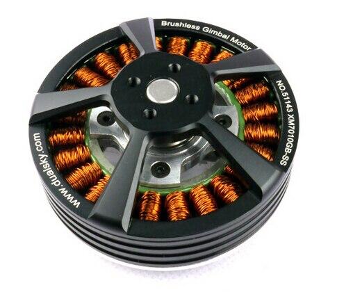 DUALSKY Gimbal Brushless Motor 7010GB-SS (for SLR like BMCC) for Camera Gimbal for FPV цены онлайн