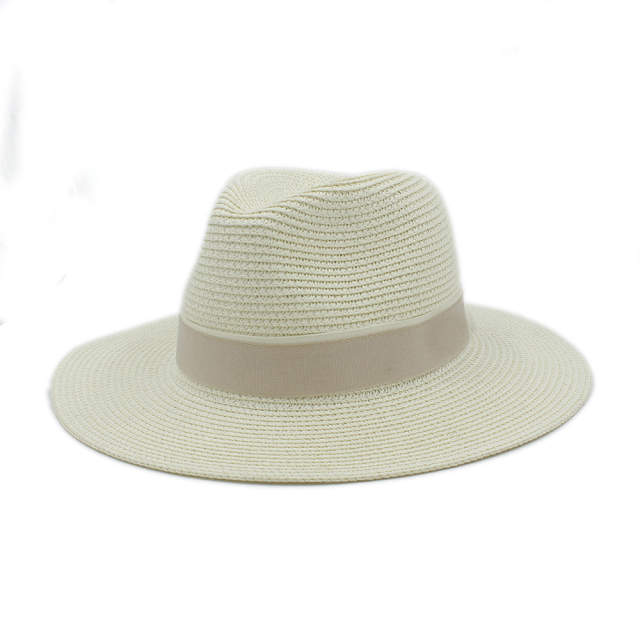4f74b12450b Fashion Women Summer Straw Maison Michel Sun Hat For Elegant Lady Outdoor  Wide Brim Beach Dad