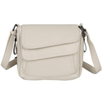 Bolso blanco de verano de cuero de lujo Bolsos De Mujer bolsos de diseñador de hombro bolso de mensajero para mujeres 2018 bolsas de mujer