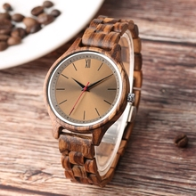 Retro Clock Wood Watch Men relogio masculino Special Polishe