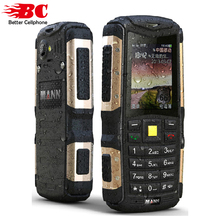 Оригинал MANN Zug с мобильного телефона пыле противоударный Прочный Открытый Камера Bluetooth GSM Две сим-карты Дешевые старший сотовые телефоны