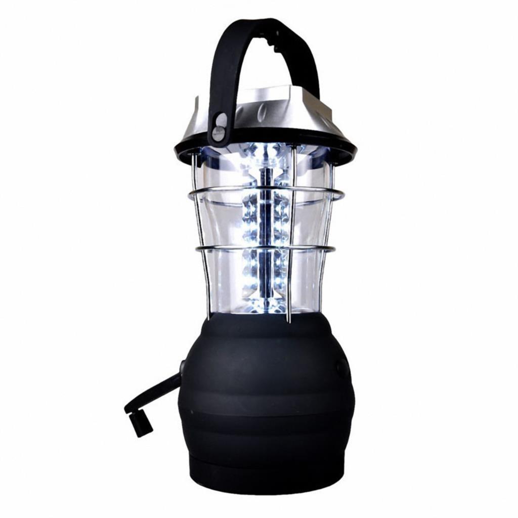 Solar Lantern 5 Mode Hand Crank Dynamo 36 LED Rechargeable Camping Lantern Emergency Light, Ultra Bright LED Lantern - Campin