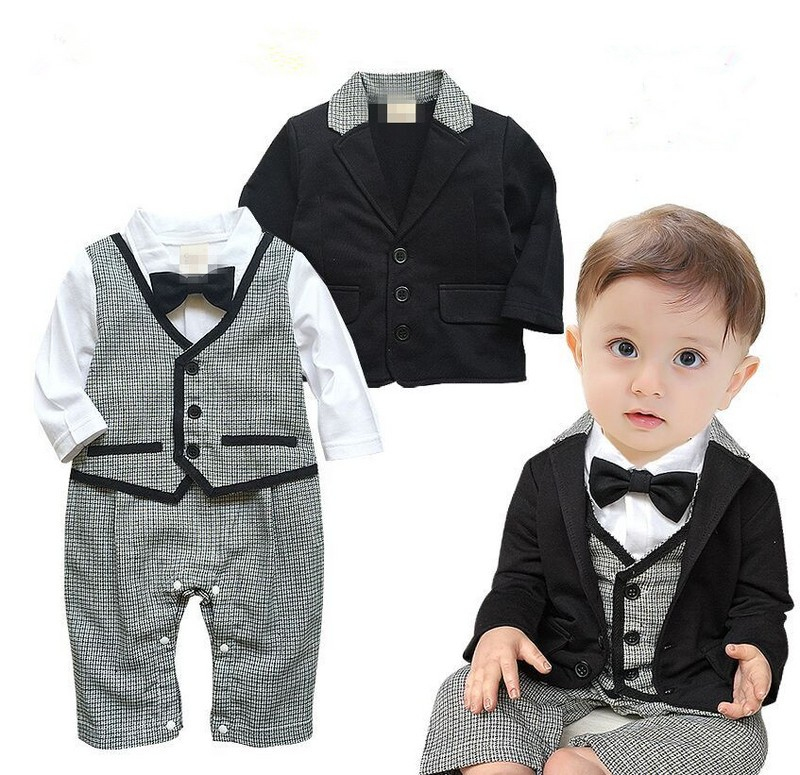 fc0c02801 gentleman baby boy clothes party newborn baby boy clothes baby born ...
