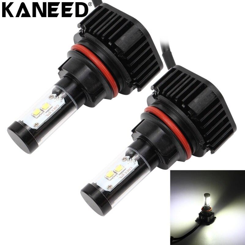 KANEED 9007 ampoules de phares LED 2 pièces 40 W 4000 LM 6000 K De Phare De Voiture avec 4 Lampes HB5 LED Ampoule