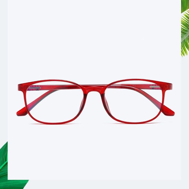 3bc577d873 2019 Red Glasses Frame For Lady Trendy Plastic Eyeglasses For Women ...