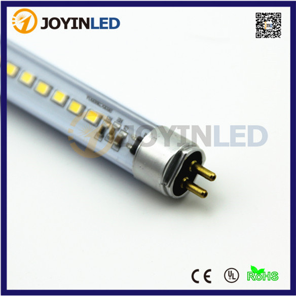 AC220V 4W Led Tube T5 300mm 2835 Warm Pure White Cabinet Mirror Rigid Strip Bar Light Driverless Plastic Replace Flouscent Lamps