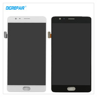 5 5 Black White For One Plus OnePlus 3T A3010 Smartphone LCD Display Digitizer Touch Screen