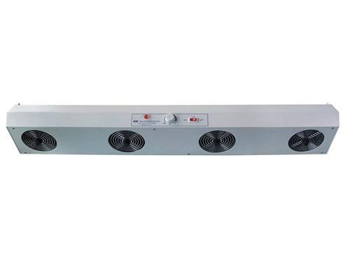 SL-1104 industriel éliminer équipement type Horizontal ventilateur ionisant 4 ventilateur éliminateur statique ventilateur ionisant 220 V ou 110 V