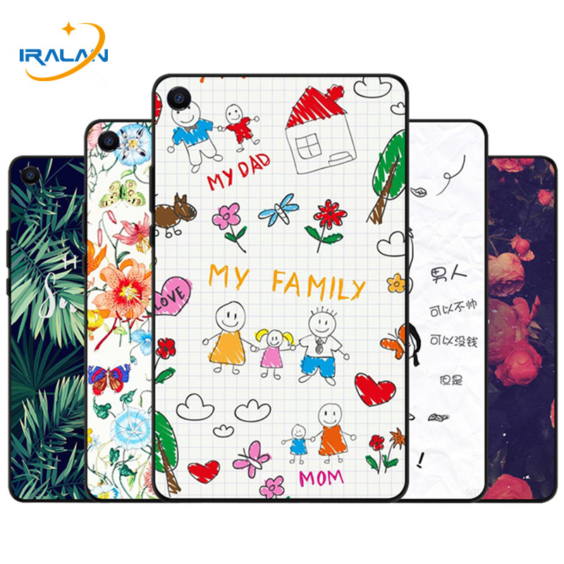Painted Silicone Soft TPU back Case For Xiaomi miPad 4 8.0 2018 Shockproof Shell For mi pad 4 mi pad4 8.0 inch Protective Cover стоимость