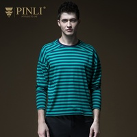 2018 Undertale Palace Full Spring Hot New Men's Dress With Round Neck Stripe Bottom Shirt Long Sleeve T shirt Top B191211123