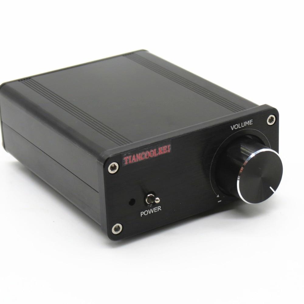 TIANCOOLKEI mini TDA7498 320 w de Ultra alta potencia de Alta Fidelidad de Audio