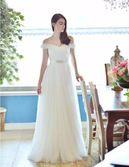 Vestido novia boho aliexpress