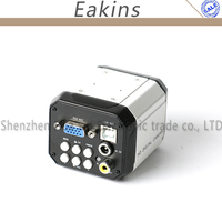 3 in 1 AV TV VGA USB Electronic Digital Industry Industrial C MOUNT Video Microscope Camera For PCB Lab Repair Soldering