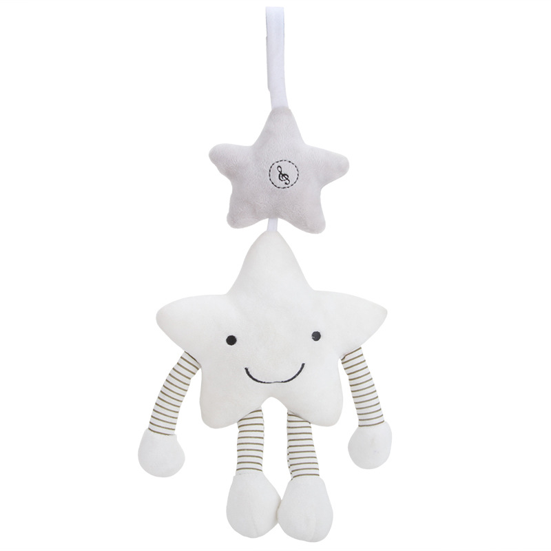 Baby Rattles Toys Musical Wind Bell Pendant Plush Rattle Mobile Crib Newborns Baby Toys 0-12 Months Toys for a Stroller baby toys rattleswhite baby crib musical mobile cot bell music box 35 melodies song crib electric bed bell toys for newborns