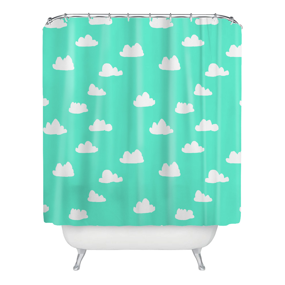 180*180 Waterproof Shower Curtain with Cactus plant Polyester ...