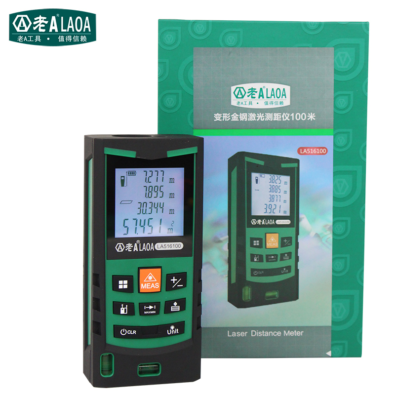 ФОТО LAOA high precision Non-contact 20-100meters laser distance meter trena de medir a laser meter range finder measure tape laser