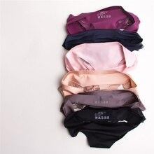 Sexy Panties Underwear Women Seamless Lace Ice Silk Panties Sexy Underpants Cute Lingerie Cotton Briefs Bikini Panty For Girls